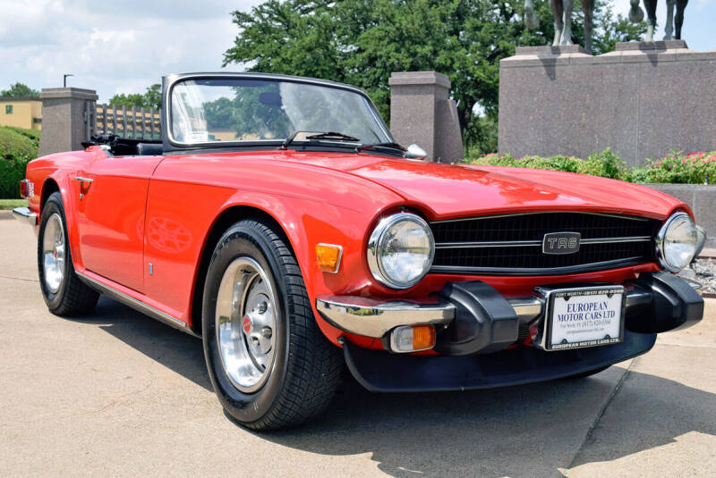 1975 Triumph TR6 for sale at European Motor Cars LTD in Fort Worth TX