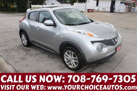 2011 Nissan JUKE for sale at Your Choice Autos in Posen IL