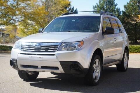 2010 Subaru Forester for sale at COURTESY MAZDA in Longmont CO