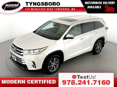 2018 Toyota Highlander for sale at Modern Auto Sales in Tyngsboro MA