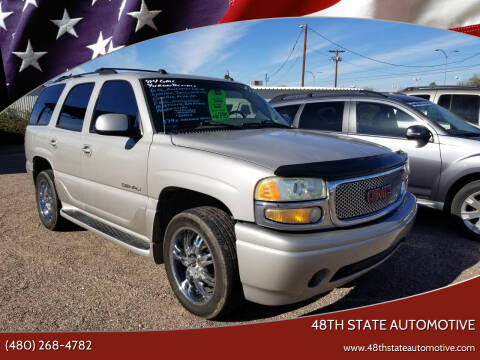 2004 GMC Yukon for sale at 48TH STATE AUTOMOTIVE in Mesa AZ