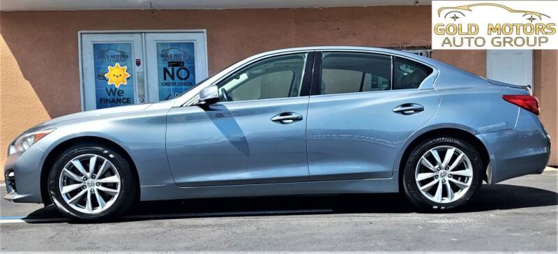 2014 Infiniti Q50 for sale at Gold Motors Auto Group Inc in Tampa FL
