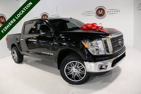 2018 Nissan Titan for sale at Unlimited Motors in Fishers IN