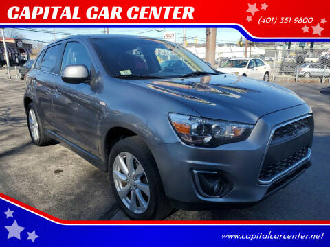 2014 Mitsubishi Outlander Sport for sale at CAPITAL CAR CENTER in Providence RI