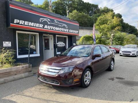 2011 Ford Fusion for sale at Premier Automotive Group in Pittsburgh PA