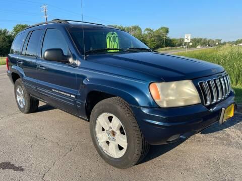 2001 Jeep Grand Cherokee for sale at Sunshine Auto Sales in Menasha WI