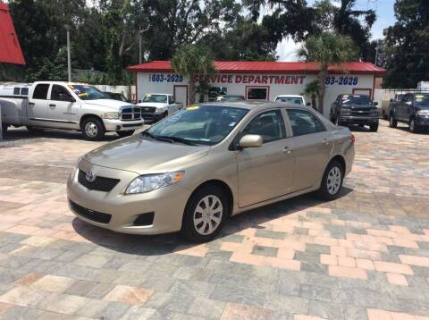 2009 Toyota Corolla for sale at Affordable Auto Motors in Jacksonville FL