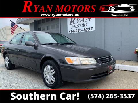 2001 Toyota Camry for sale at Ryan Motors LLC in Warsaw IN