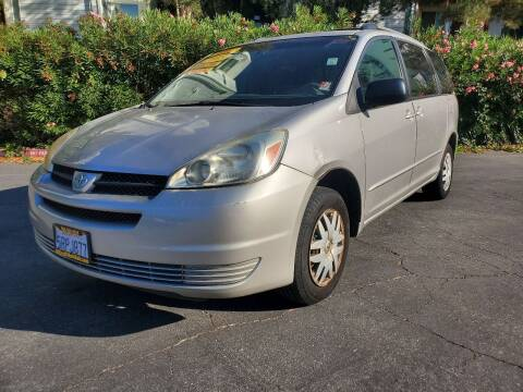 2005 Toyota Sienna for sale at ALL CREDIT AUTO SALES in San Jose CA