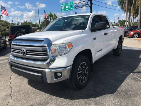 2014 Toyota Tundra for sale at GTR MOTORS in Hollywood FL