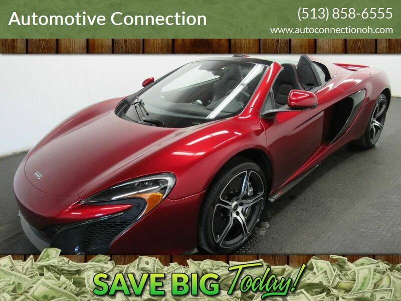 2015 McLaren 650S Spider for sale at Automotive Connection in Fairfield OH