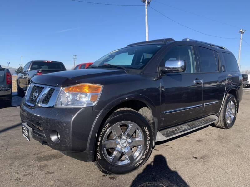 2011 Nissan Armada for sale at Superior Auto Mall of Chenoa in Chenoa IL