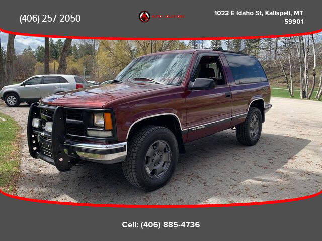 1999 Chevrolet Tahoe for sale at Auto Solutions in Kalispell MT