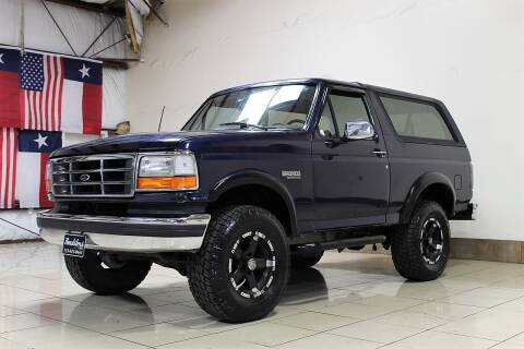 1994 Ford Bronco for sale at ROADSTERS AUTO in Houston TX