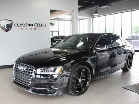 2016 Audi S8 for sale at Coast to Coast Imports in Fishers IN