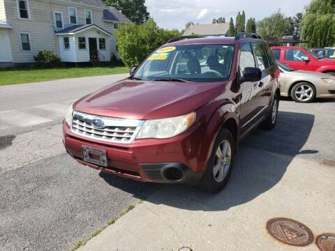 2011 Subaru Forester for sale at York Street Auto in Poultney VT