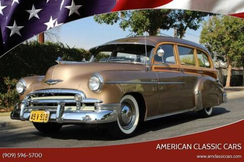 1950 Chevrolet Styleline Deluxe for sale at American Classic Cars in La Verne CA