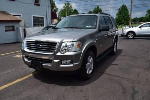 2008 Ford Explorer for sale at L&J AUTO SALES in Birdsboro PA