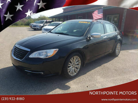 2012 Chrysler 200 for sale at Northpointe Motors in Kalkaska MI