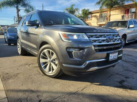 2018 Ford Explorer for sale at GENERATION 1 MOTORSPORTS #1 in Los Angeles CA