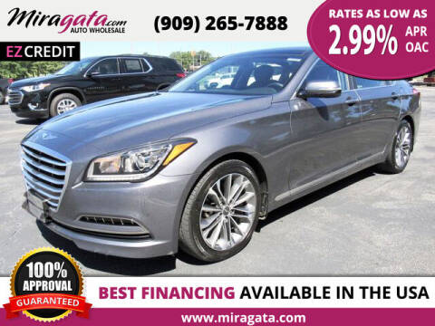 2015 Hyundai Genesis for sale at Miragata Auto in Bloomington CA