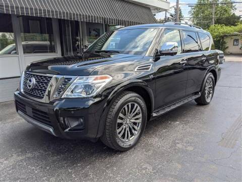 2019 Nissan Armada for sale at GAHANNA AUTO SALES in Gahanna OH