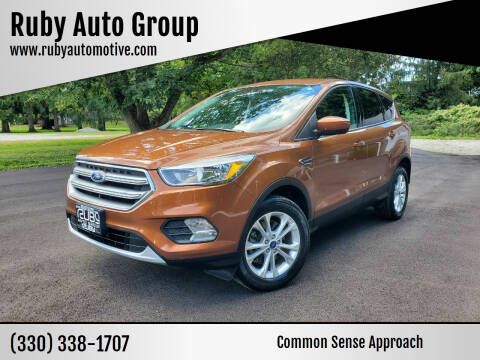 2017 Ford Escape for sale at Ruby Auto Group in Hudson OH