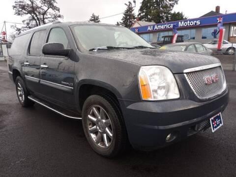 2008 GMC Yukon XL for sale at All American Motors in Tacoma WA