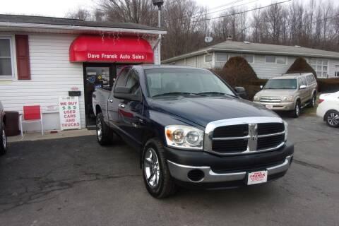 2008 Dodge Ram Pickup 1500 for sale at Dave Franek Automotive in Wantage NJ