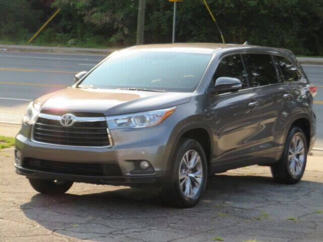 2016 Toyota Highlander for sale at Marietta Auto Mall Center in Marietta GA