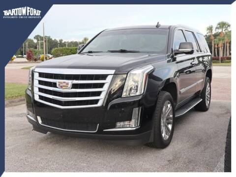 2018 Cadillac Escalade for sale at BARTOW FORD CO. in Bartow FL