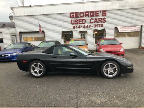 2000 Chevrolet Corvette for sale at George's Used Cars Inc in Orbisonia PA