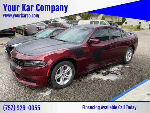 2018 Dodge Charger for sale at Your Kar Company in Norfolk VA