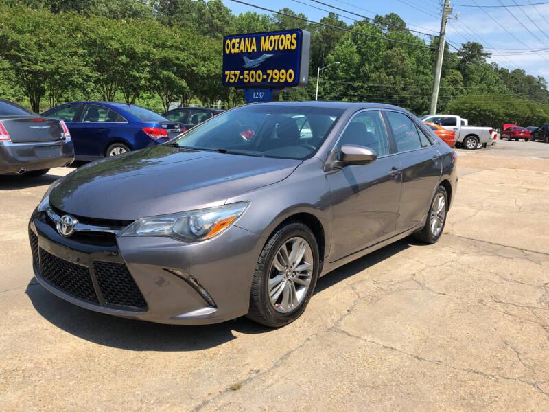 2015 Toyota Camry for sale at Oceana Motors in Virginia Beach VA