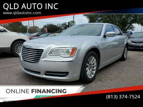 2012 Chrysler 300 for sale at QLD AUTO INC in Tampa FL
