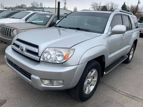 2003 Toyota 4Runner for sale at RABI AUTO SALES LLC in Garden City ID