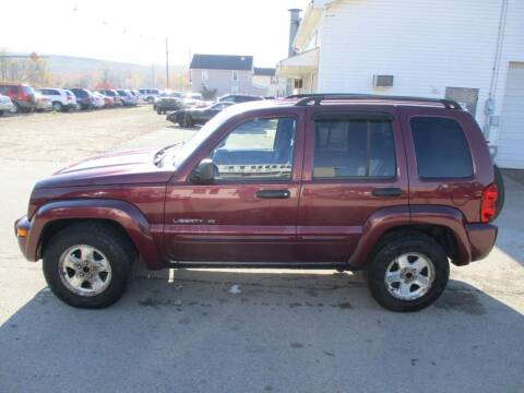 2003 Jeep Liberty for sale at ROUTE 119 AUTO SALES & SVC in Homer City PA