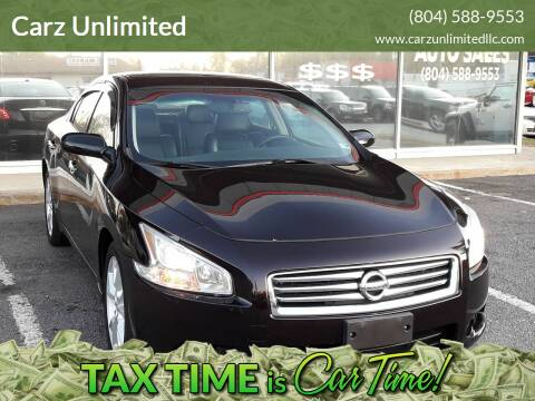 2012 Nissan Maxima for sale at Carz Unlimited in Richmond VA