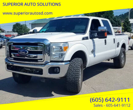 2011 Ford F-250 Super Duty for sale at SUPERIOR AUTO SOLUTIONS in Spearfish SD