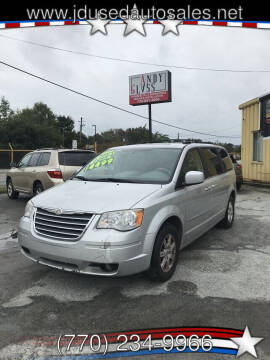 2010 Chrysler Town and Country for sale at J D USED AUTO SALES INC in Doraville GA