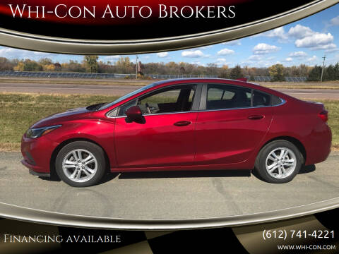 2017 Chevrolet Cruze for sale at Whi-Con Auto Brokers in Shakopee MN