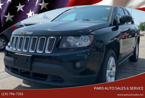 2014 Jeep Compass for sale at Paris Auto Sales & Service in Big Rapids MI