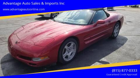1999 Chevrolet Corvette for sale at Advantage Auto Sales & Imports Inc in Loves Park IL