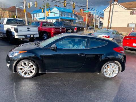 2015 Hyundai Veloster for sale at Sisson Pre-Owned in Uniontown PA