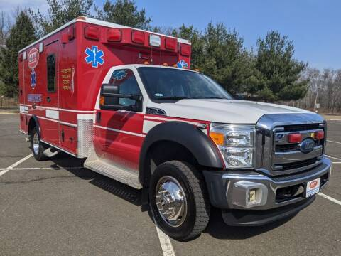 2012 Ford Wheeled Coach F450 Type I Ambulance for sale at Global Emergency Vehicles Inc in Levittown PA