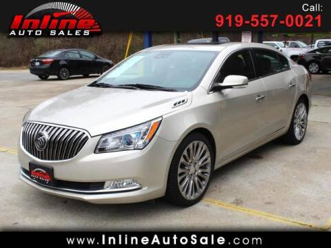 2015 Buick LaCrosse for sale at Inline Auto Sales in Fuquay Varina NC