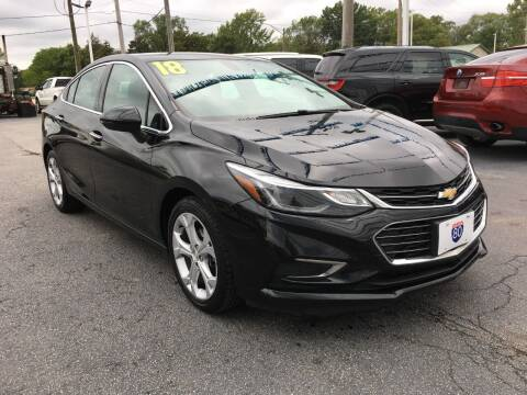 2018 Chevrolet Cruze for sale at I-80 Auto Sales in Hazel Crest IL