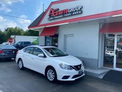 2018 Nissan Sentra for sale at AG AUTOGROUP in Vineland NJ