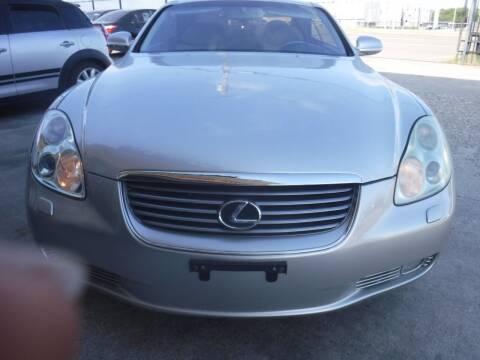 2003 Lexus SC 430 for sale at N & A Metro Motors in Dallas TX