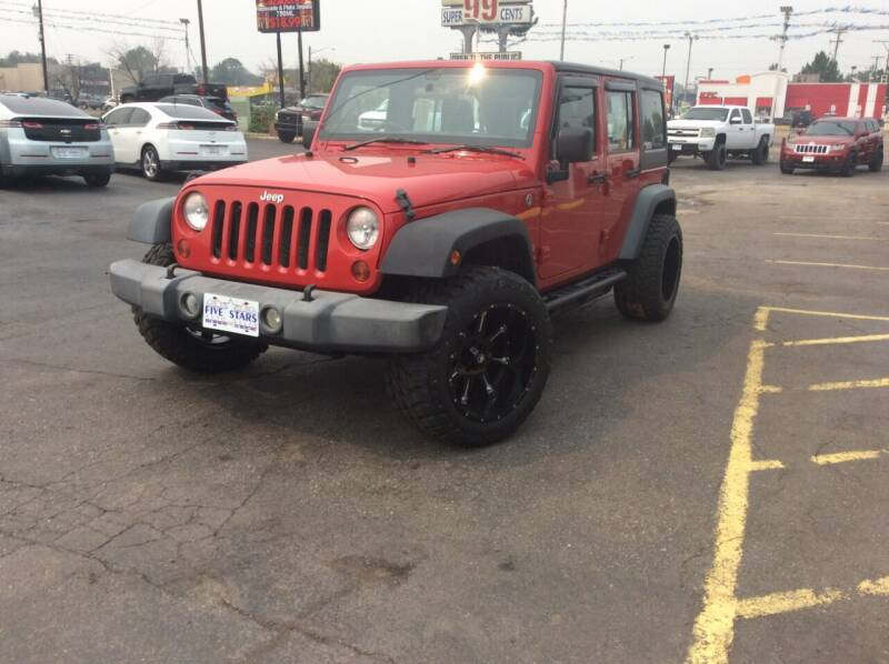 2011 Jeep Wrangler Unlimited for sale at Five Stars Auto Sales in Denver CO